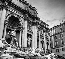 Trevi Fountain / Fontaine de Trévi by maophoto