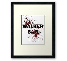 Walker Bait Framed Print