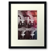 Multiple Glitch Framed Print