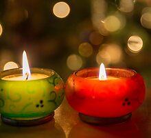 Christmas candle / Chandelle de Noël by maophoto