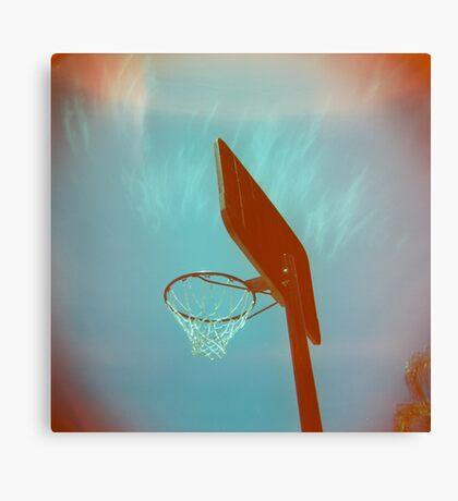 Basketball Ring Canvas Print