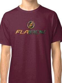 The Flash and Arrow (Team Flarrow) Classic T-Shirt