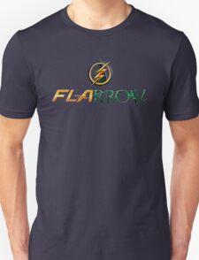 The Flash and Arrow (Team Flarrow) Unisex T-Shirt
