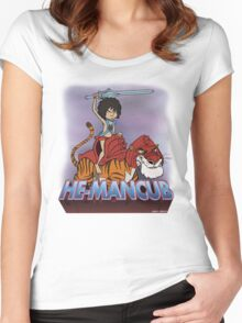 He-Mancub Women's Fitted Scoop T-Shirt