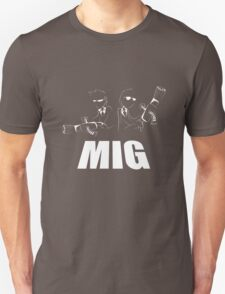 Men In Grey T-Shirt