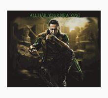 All Hail King Loki T-Shirt
