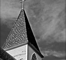 Rural Steeple by Linda Bianic