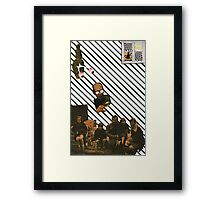Always Being Watched Framed Print