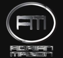 DJ Adrian Mason Logo by thekulkid
