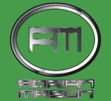 DJ Adrian Mason Logo One Piece - Short Sleeve