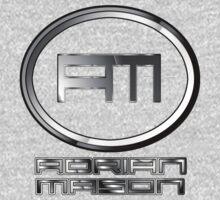 DJ Adrian Mason Logo Kids Tee