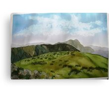 The view from Mt  Loch in summer Canvas Print