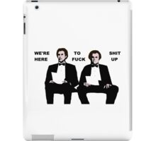 Step Brothers iPad Case/Skin