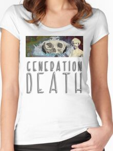 Generation Death. Women's Fitted Scoop T-Shirt