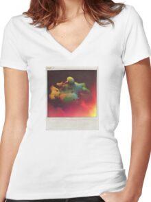 Milky Wayz Women's Fitted V-Neck T-Shirt
