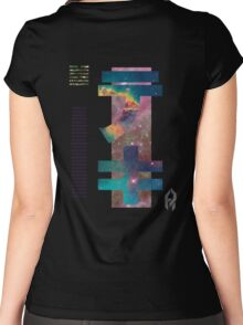 Parting Displacement. Women's Fitted Scoop T-Shirt