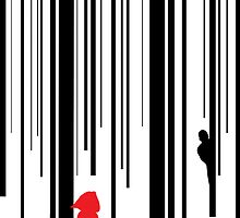 Little Red Barcode  by XandraDesign