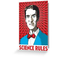 Bill Nye Greeting Card