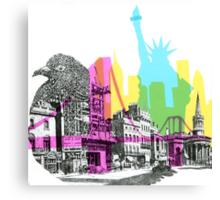 NYC CMYK Canvas Print