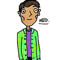 Abed Nadir  by glitterglue