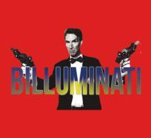 "BILL NYE THO ""Billuminati"" Design One Piece - Long Sleeve"