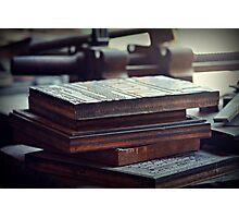 Printing Plates Photographic Print
