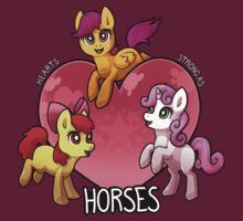 Hearts Strong as Horses by Zinge