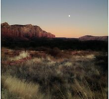 Sedona Sunset - Arizona USA by Edith Reynolds