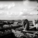 Over looking  Paris by Andrew Wilson