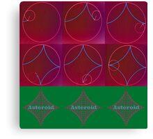 asteroid Canvas Print
