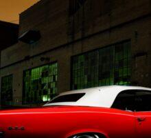 1967 Pontiac GTO Sticker