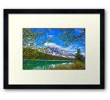 Jasper National Park, Alberta Framed Print