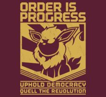 ORDER IS PROGRESS by Steve Boyland