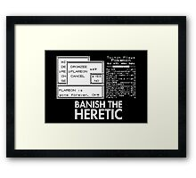 Twitch Plays Pokemon - The End of Flareon Framed Print