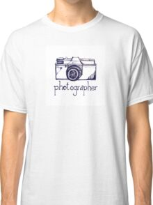Photogrpaher and vintage camera Classic T-Shirt