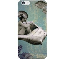 Marcella and her Conch Carriage iPhone Case/Skin