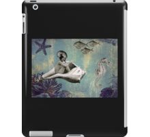 Marcella and her Conch Carriage iPad Case/Skin