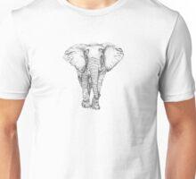 Elephant on Point Unisex T-Shirt