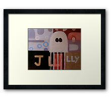 In Walked a Jelly Fish Framed Print