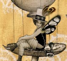Mushroom Fairy Sticker