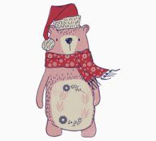 Christmas winter bear One Piece - Short Sleeve