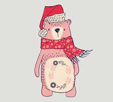 Christmas winter bear Unisex T-Shirt