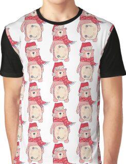 Christmas winter bear Graphic T-Shirt