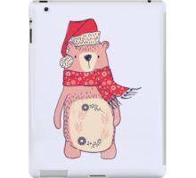 Christmas winter bear iPad Case/Skin