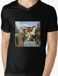 Hounds of the Baskervilles Mens V-Neck T-Shirt