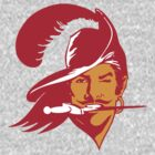 Tampa Bay Buccaneers T-Shirt by Kellan Reck