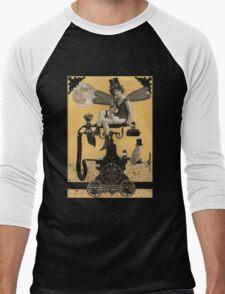 Telephone Fairy Men's Baseball ¾ T-Shirt