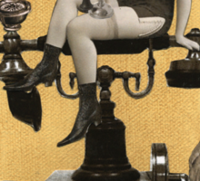 Telephone Fairy Sticker