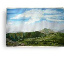 Summer hiking at  Mt  Loch 2014 Canvas Print