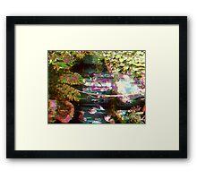 San Francisco Glitch II Framed Print